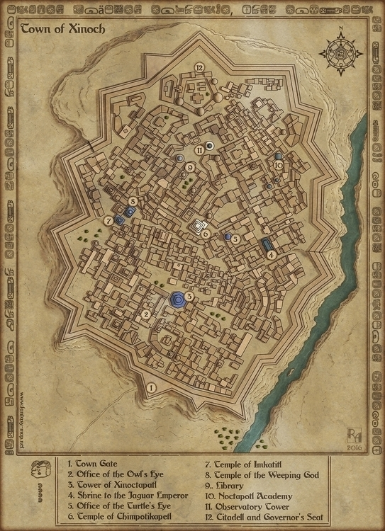 Town Xinoch - garrison town mig - robertaltbauer | ello