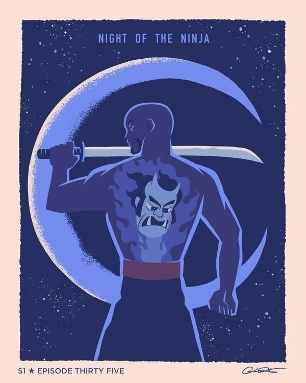 poster Episode 35 Batman Animat - caltsoudas | ello