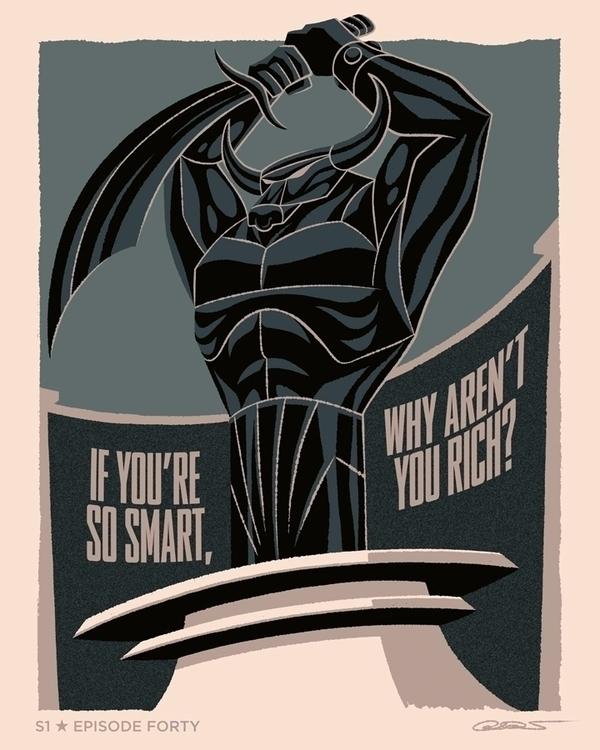 poster Episode 40 Batman Animat - caltsoudas | ello