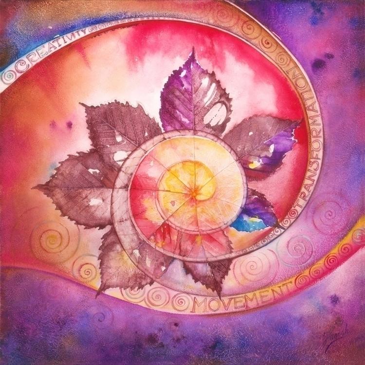 Mandala Creativity- Creation ar - annahannahart | ello