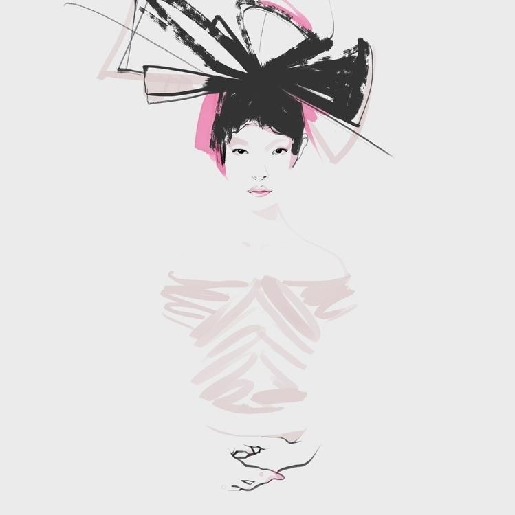 fashion, fashionillustration - murysina | ello