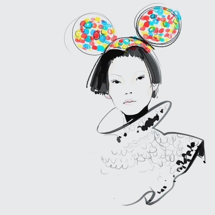 fashion, fashionillustration - murysina | ello