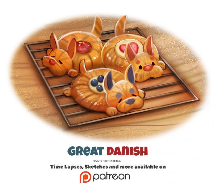 Day 1384. Great Danish - piperthibodeau | ello