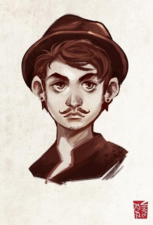 Male Illustration - illustration - vinceruz | ello