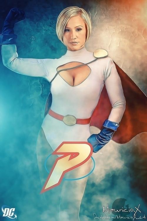 DC Comics character fanart Powe - mauriciox-1463 | ello
