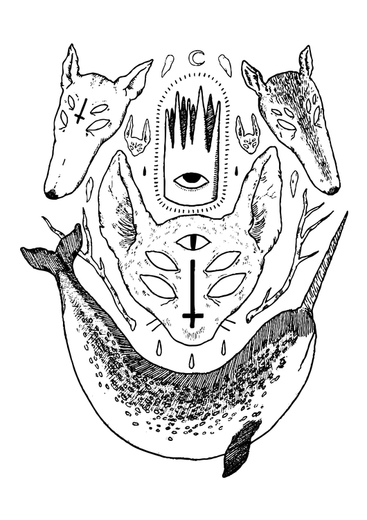 illustration poster design - animals - ameliaryan | ello