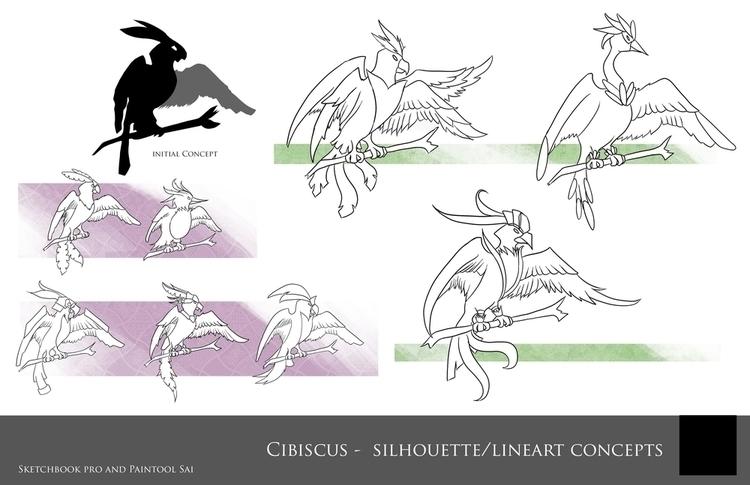 Cibis Concepts - Creature Desig - ninjalemon | ello