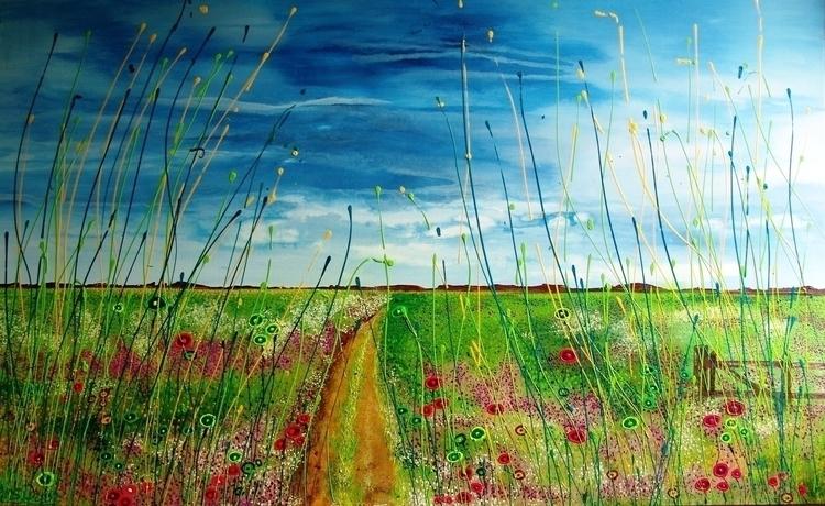 brand day. 160 100 cm - painting - ansduin | ello
