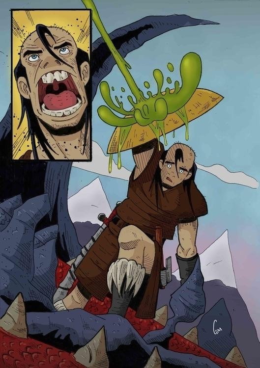 dragonslayer, comics, comicpage - cemok | ello