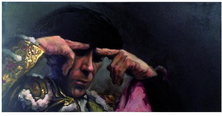 portrait, painting, oilpainting - marianoperes   ello