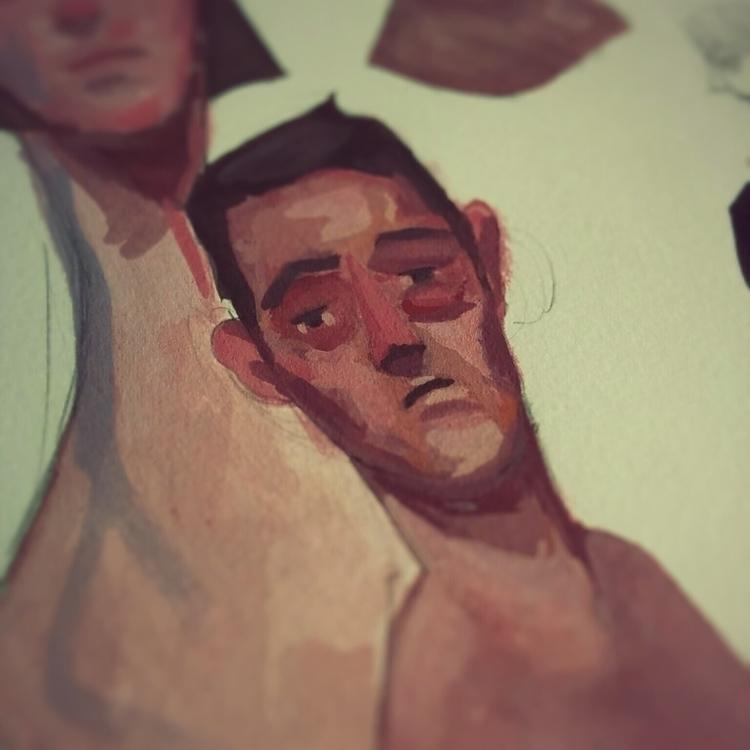 Gouache - 03, gouache, painting - jordan_buckner | ello