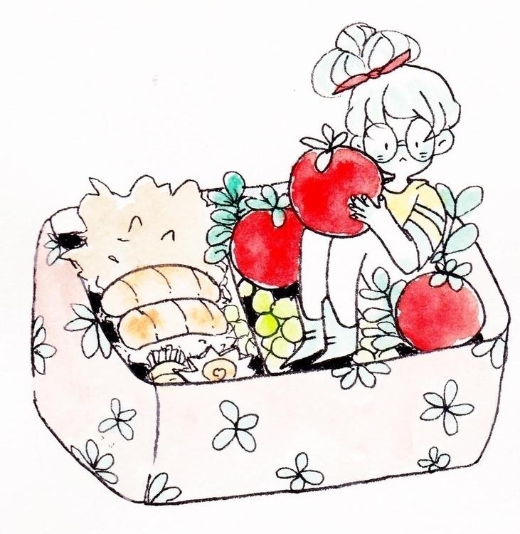tomatoes - sketchbook - llyvn | ello