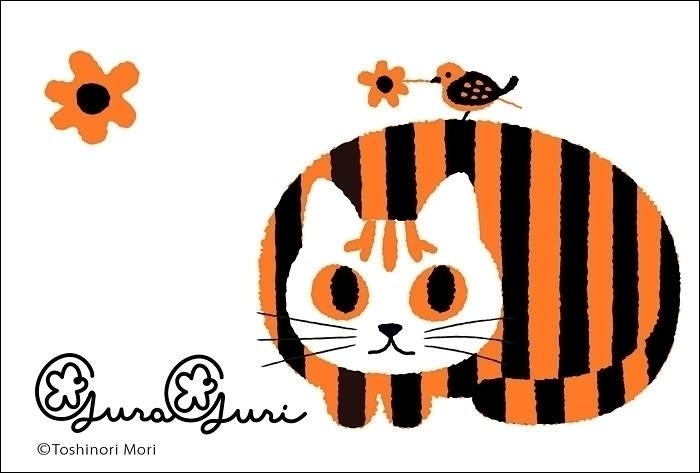 illustration cat, pet cat Guri  - guraguri | ello
