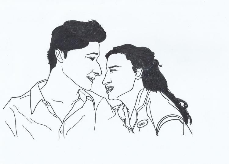 Jenna Pomatter - illustration, painting - novelia | ello
