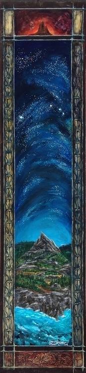 Aries 12x48 wood - constellations - lycius | ello