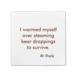 Bo Dogly quote cocktail napkin - farrellhamann | ello
