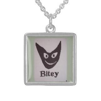 Bitey Cat pendant, charm, neckl - farrellhamann | ello
