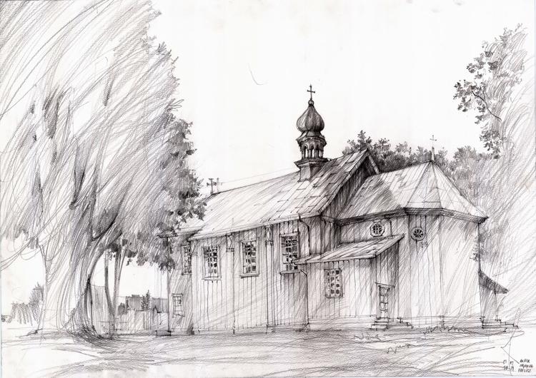 Poland, Zamosc, travel sketch - poland - crewthere | ello