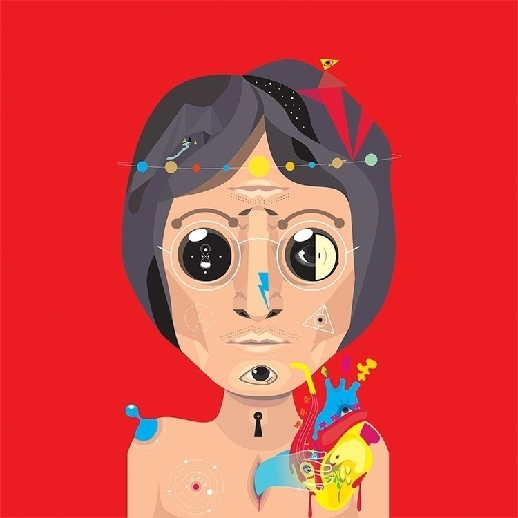 John - illustration, vectorart, vectorillustration - imajinerizal | ello