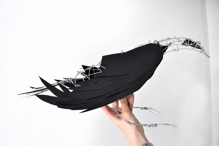 Raven - raven, sculpture, black - voyanik | ello