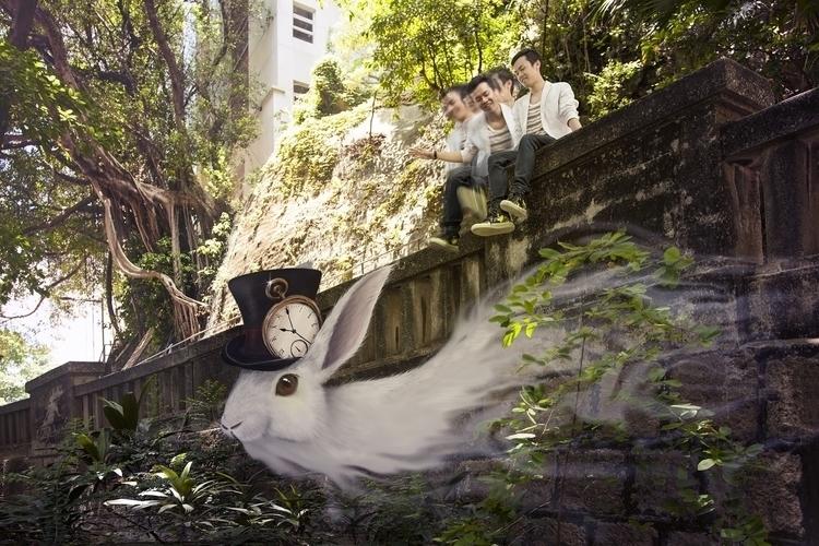 Leon - photomanipulation, oksin - oksin | ello