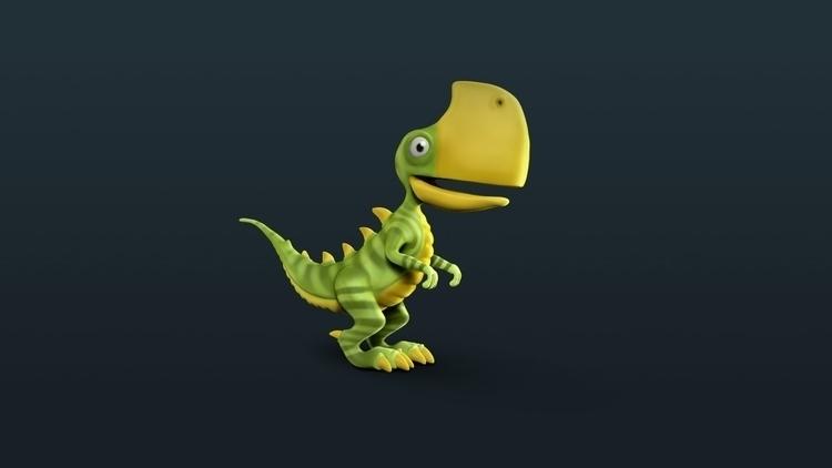 dinosaur, 3d, Zbrush - bas-1355 | ello