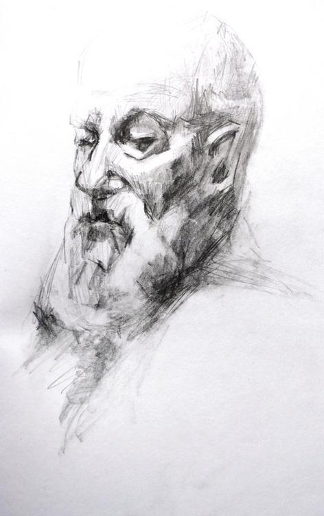 oldman - drawing, draw, drawings - orduzleon | ello