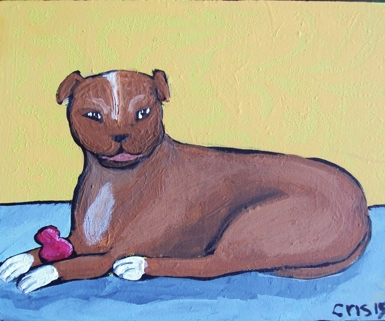 Dog Kong toy - originalfolkart, dog - cristinegreen | ello