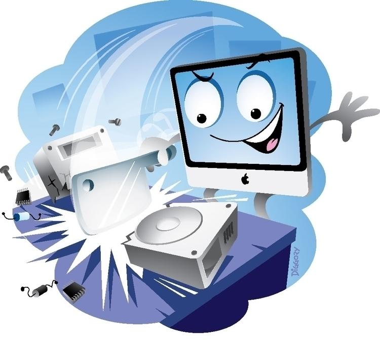 Mighty Mac' - Character Mac For - nickdiggory | ello
