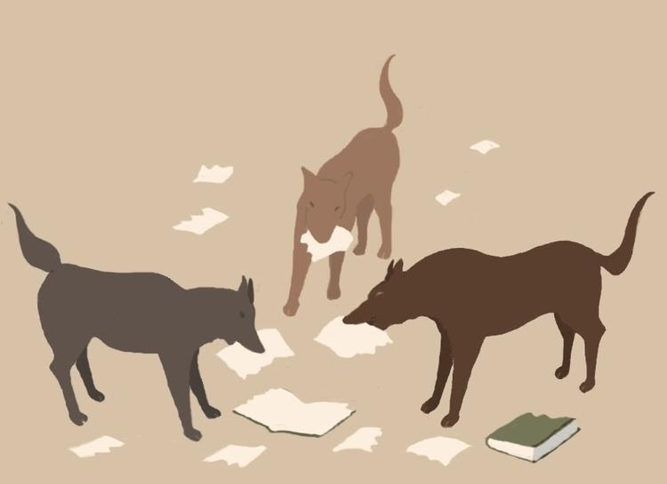 Dogs books - dogs - dorianostrologo | ello