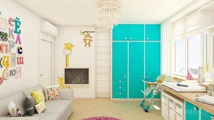 Interior Design - Kiev - nursery - artinterior | ello