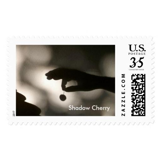 postcard stamp, Shadow Cherry.  - farrellhamann | ello