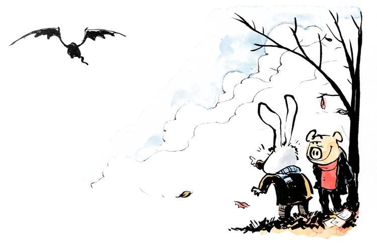 Goodbye, Autumn Dragon... year - jonskraentskov   ello