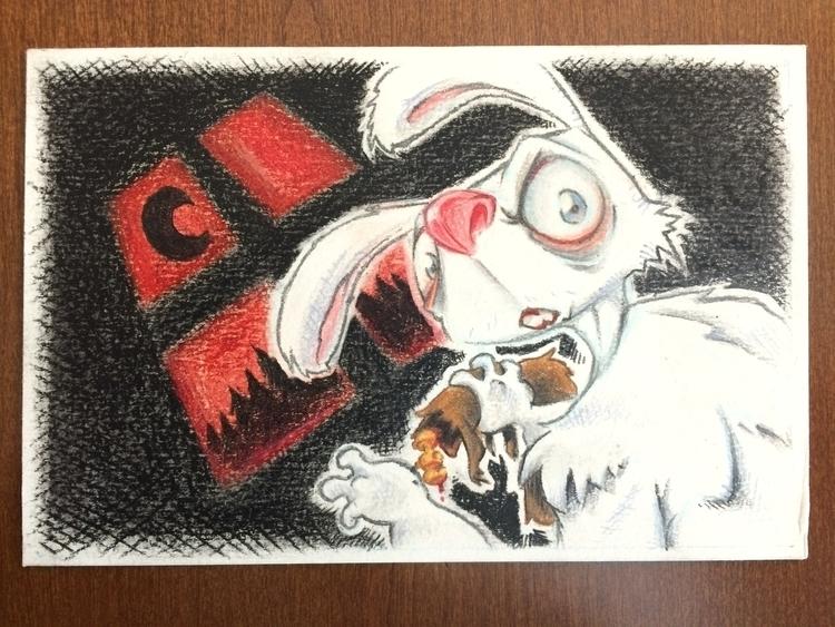 Curse Wererabbit - wererabbit, illustration - tjs3rd | ello