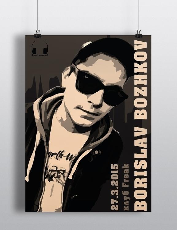 Music Artist Poster - danipancheva | ello