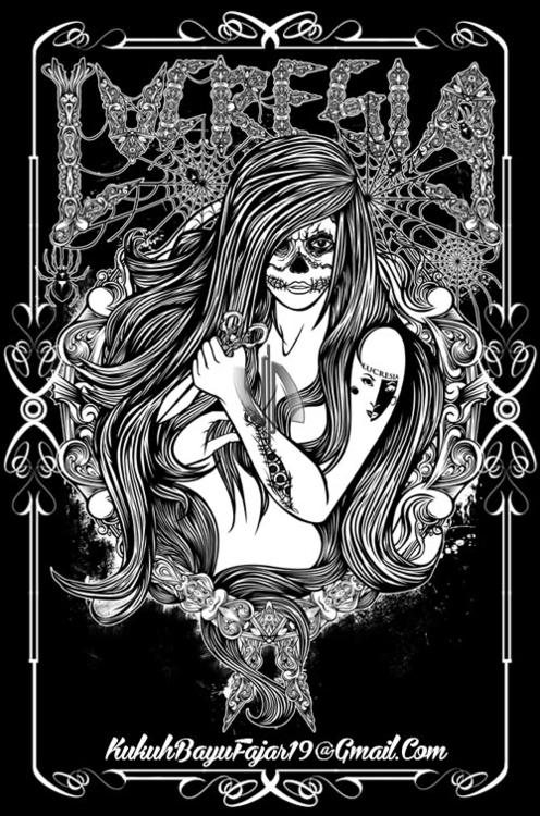 Lady Muerte - lady, muerte, elmuerte - vhayu19 | ello