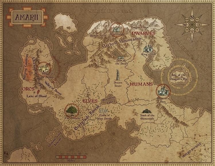 Amarii map months Red Wizard Ha - robertaltbauer | ello