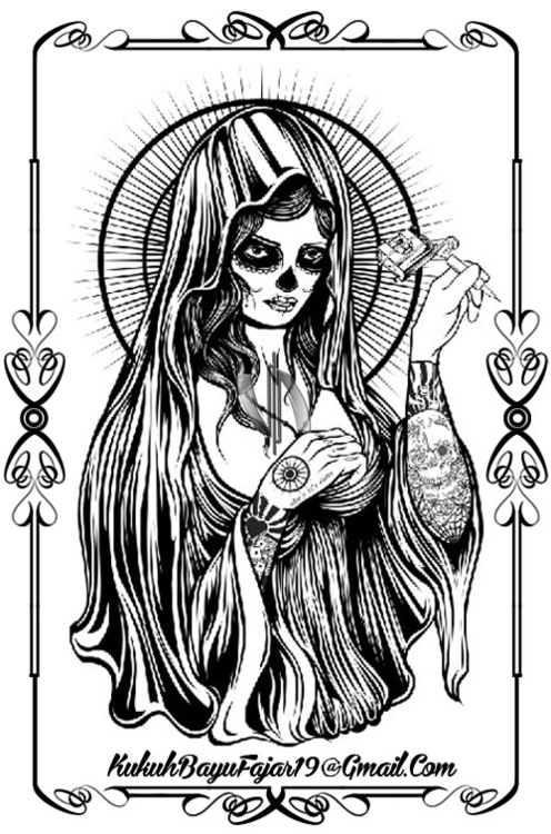 Tattoo Muerte - tattoolady, tattoomuerte - vhayu19 | ello