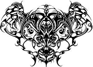 Tribal Backshove - tattoos - lycius | ello