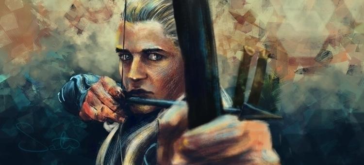 Legolas sketch dailies - sketch_dailies - samanthadoodles | ello