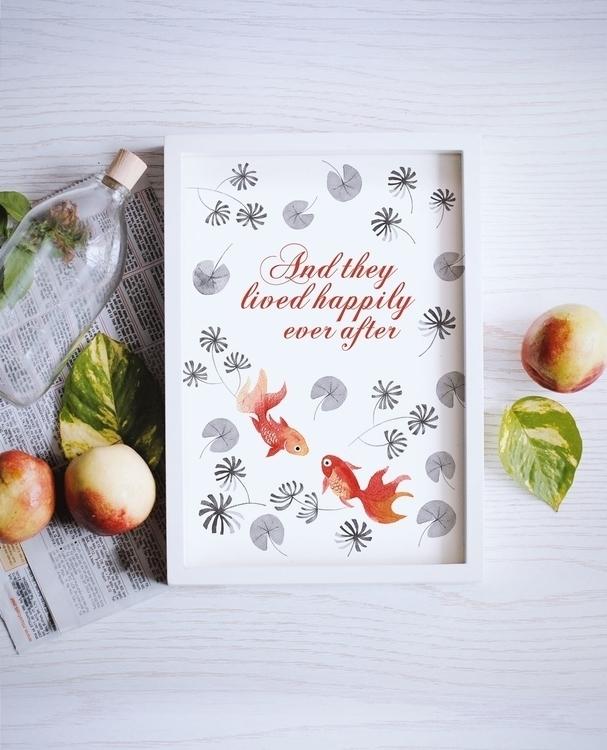 live happily - Wedding print - wedding - judynguyen-5846 | ello