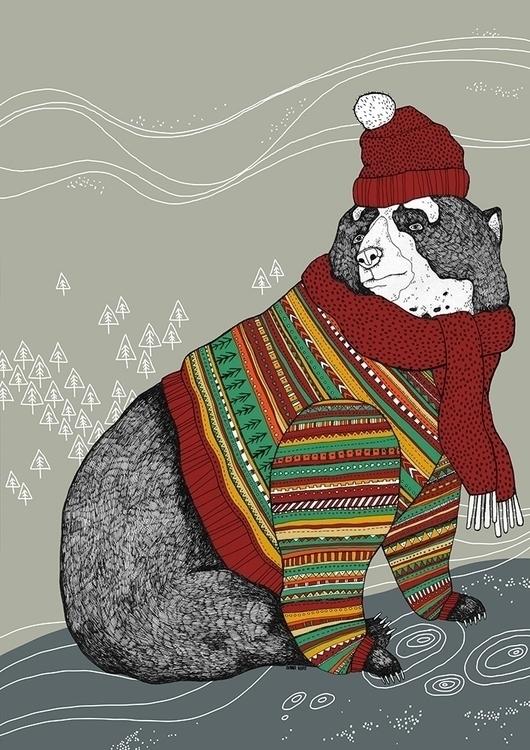 Christmas Bear - bear, bears, carebears - dianahope | ello