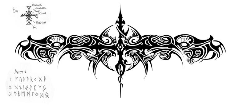 Fortune Favors Bold - tattoos - lycius | ello