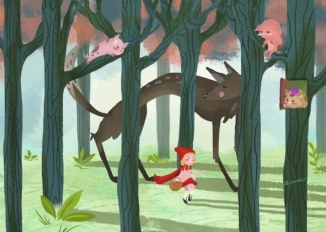 Red - illustration, digitalart, digitalpainting - leannepet | ello