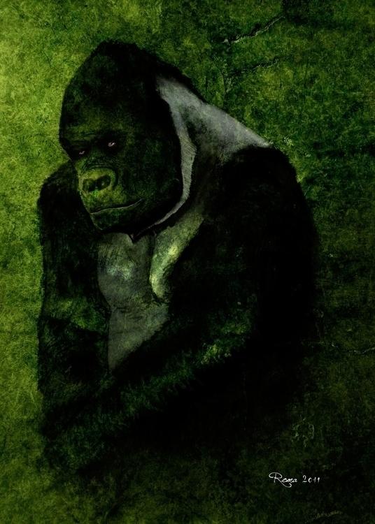 Gorilla - romaartwork | ello