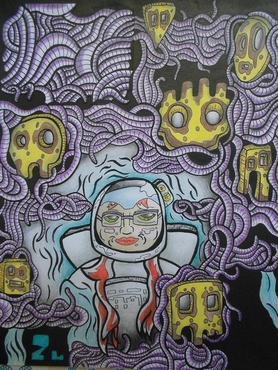 ... 7 Pecados Capitales - illustration - kamanyacosta | ello