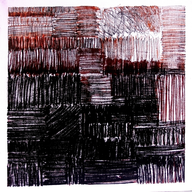 monochrome, painting, monotype - balint-2573 | ello