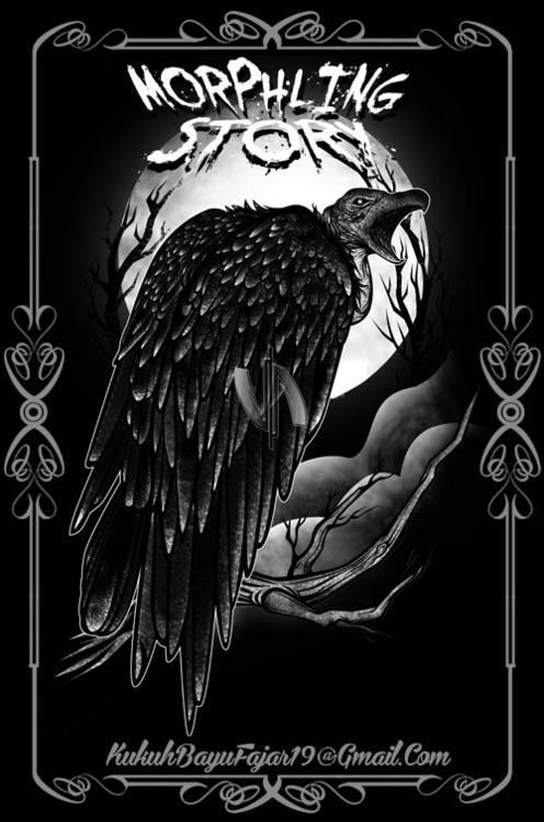Vulture - vulture, bird, night, moon - vhayu19 | ello