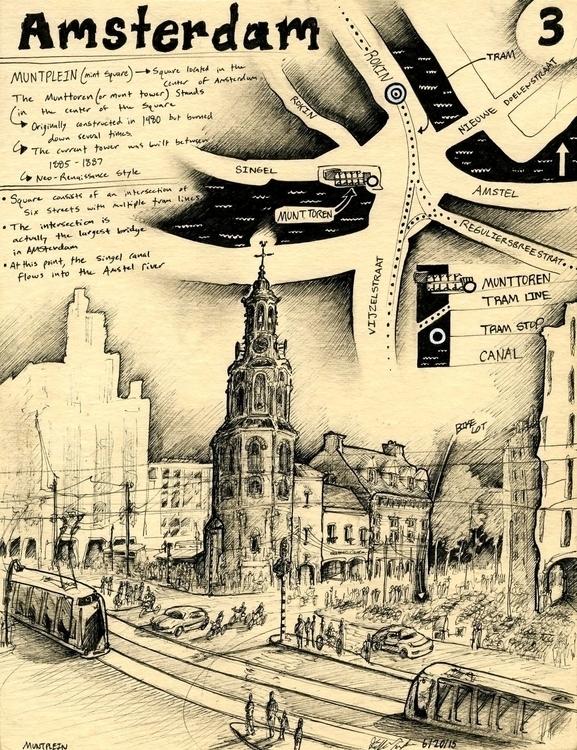 Amsterdam 2015 - architecture, europe - grippinposture | ello