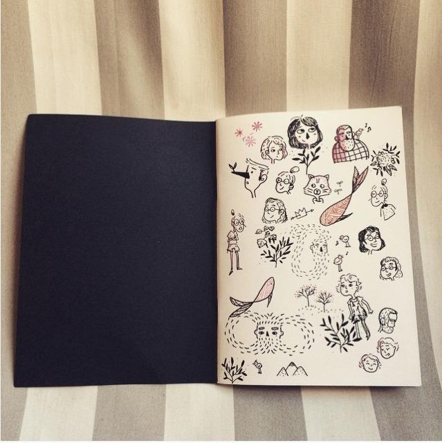 Doodling - doodle, sketchbook, blackpen - evapointpsd | ello